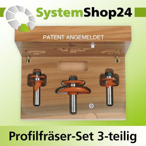 cmt profilfr ser set 3 teilig profil a s12mm systemshop24. Black Bedroom Furniture Sets. Home Design Ideas