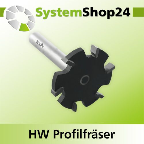 Klein Hw Profilfraser Fur Mineralwerkstoffe Z2 S12 7mm D52mm B6 5mm