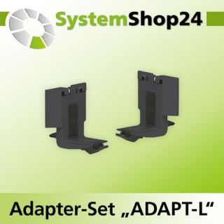 "TANOS Adapter-Set ""ADAPT-L"", 2-teilig anthrazit..."
