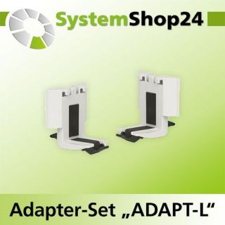 "TANOS Adapter-Set ""ADAPT-L"", 2-teilig lichtgrau..."