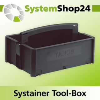 TANOS Systainer Tool-Box 1 anthrazit