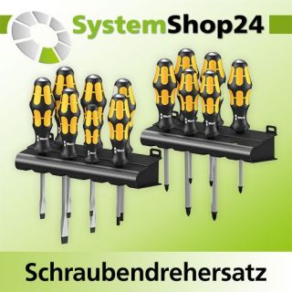 WERA Schraubendrehersatz 15 tlg. Kraftform Big Pack Serie...