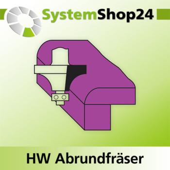 6mm Schaftdurchmesser Abrundfr/äser mit Kugellager