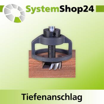 FAMAG Schlosskastenfr/äsbohrer rechtsschneidend 16x130x200mm S=16mm 1603.216